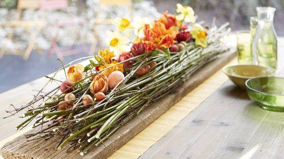 Lækker, lækker borddekoration Det er simpelthen kærlighed ved første blik. Jeg er vild med denne borddekoration, der helt sikkert ikke kan undgå at blive et hit på bordet til forårets fester. Den skø