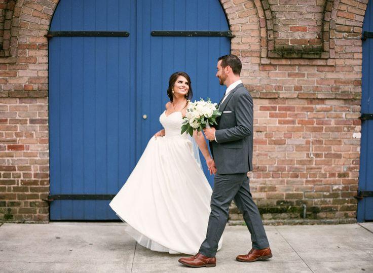 Tomas Bistro Downtown New Orleans Wedding: Kristi + Gabriel