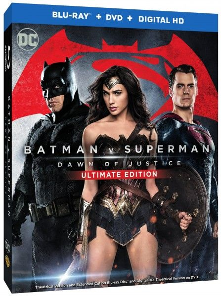 Exclusive: 'Batman v Superman: Dawn of Justice' Ultimate Edition Trailer and Blu-ray Details