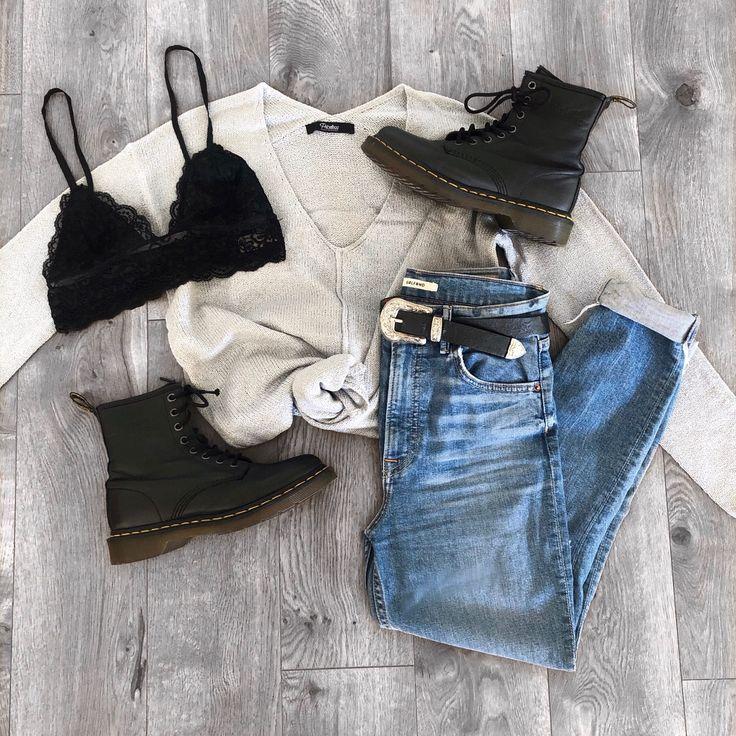 Debra Grey V-Neck Loose Knit Sweater Top 2