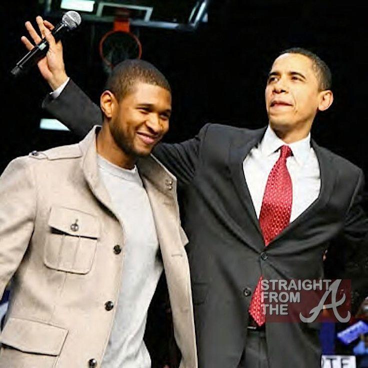 Barack Obama and Usher