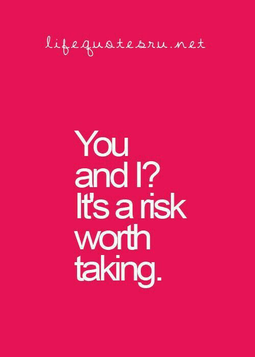 a risk worth taking essay Is the reward worth the risk risks are only worth taking if the upside justifies the potential downside more risk, more return hence, it makes sense that investors should expect to earn more.