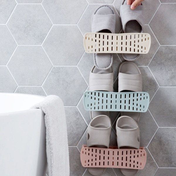 This shoe rack can help you save space so that you can put many shoes on your shoes stand. The angle can be adjust to suit the different shoes, preventing the shoe from deforming. 1 x Creative Shoe Rack. | eBay!
