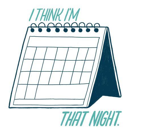 I think I'm busy that night GIF