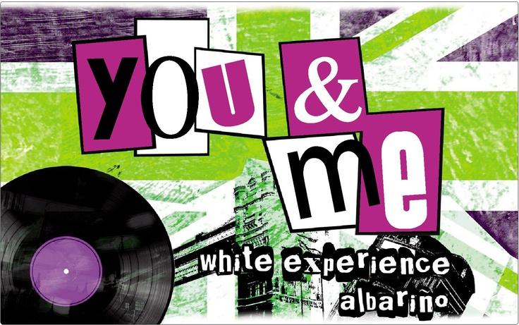 Etiqueta botella You&Me Albariño