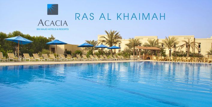 Unwind in RAK with 2 tickets to Iceland Waterpark and 1 or 2 nights at the Acacia Hotel inclusive of breakfast. Prices start from AED 469 for 2 adults
