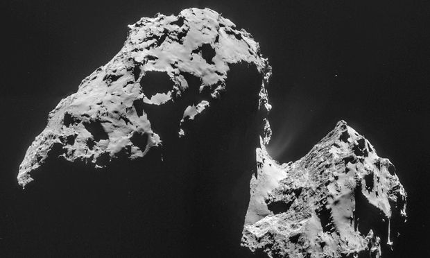 Rosetta discovers water on comet 67p like nothing on Earth | Findings from Rosetta spacecraft's Rosina instrument appear to suggest previously held theory is simplistic