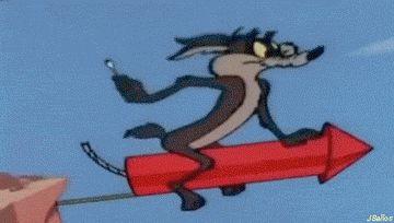 ♥El Coyote: un cohete defectuoso ª2 parte☺