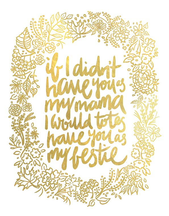 Happy Mother's Day! Hand lettering by Maiko Nagao. Plus free Mother's Day card download.