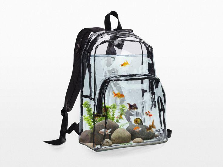 aquarium BACKPACK by uvproductionhouse on Etsy