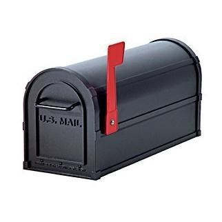 Salsbury Antique Rural Mailbox by Salsbury Industries. $109.99. All aluminum construction. 15 Year Warranty. U.S.P.S Approved. Magnetic door catch & burgundy signal flag. Available in 8 colors. 15 Lbs.. Elegant beaded details. 7 1/2W x 9 1/2H x 20 1/2D. Maintenance free?