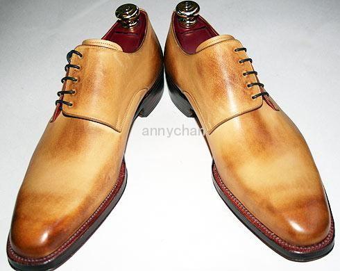 men's dress shoes custom handmade shoes plain toe oxford shoes genuine leather HD-M131 on TradeTang.com