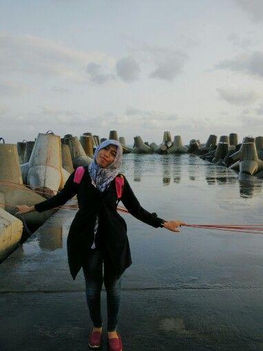 Glagah beach, yogyakarta