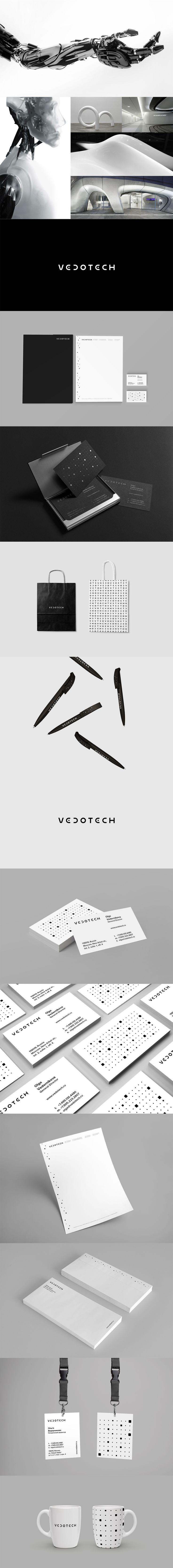 VEDOTECH, Фирменный стиль © KHAN BOLTAEV