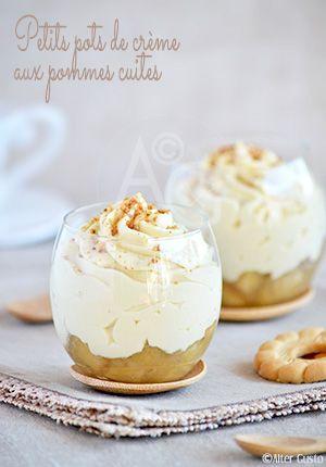 Un dessert délicat, à la texture légère. Et de saison. J'aime vraiment beaucoup cette façon de faire les petits pots de crème, en remplaçant une partie du lait par de la pulpe de fruits.