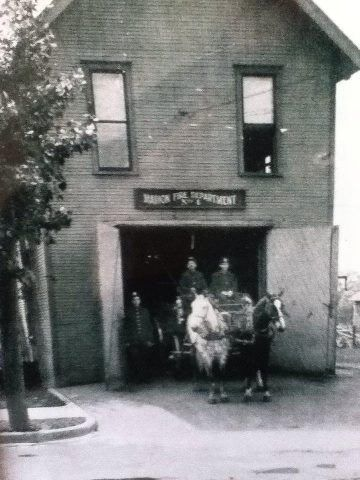 1903~Marion, Indiana Fire Station #4 on North Washington Street