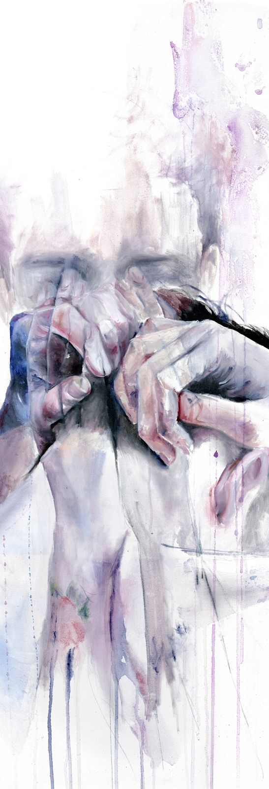 'Gestures' by Agnes Cecile - Fine Art Prints available in a variety of formats at Eyes On Walls ?  http://www.eyesonwalls.com/collections/agnes-cecile?utm_source=pinterest&utm_source=pinterest&utm_medium=ads&utm_content=Gestures&utm_campaign=Agnes%20Cecile