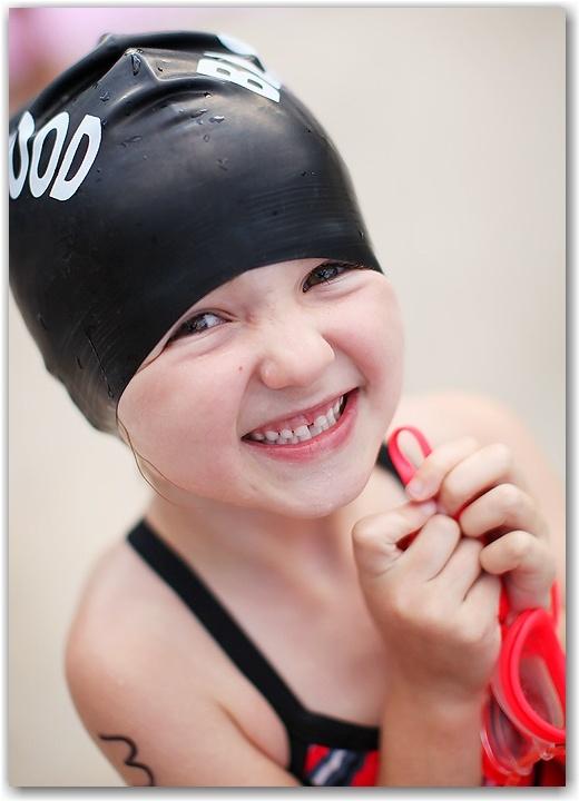 swim team girl, one year later. » The PigBear
