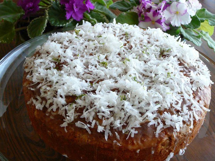Coconut Lime White Chocolate Chip Cake   Recipe