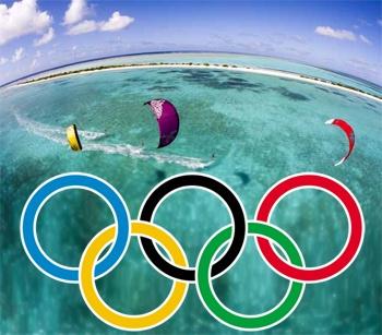 Kitesurf au Jeux Olympiques 2016 à Rio !
