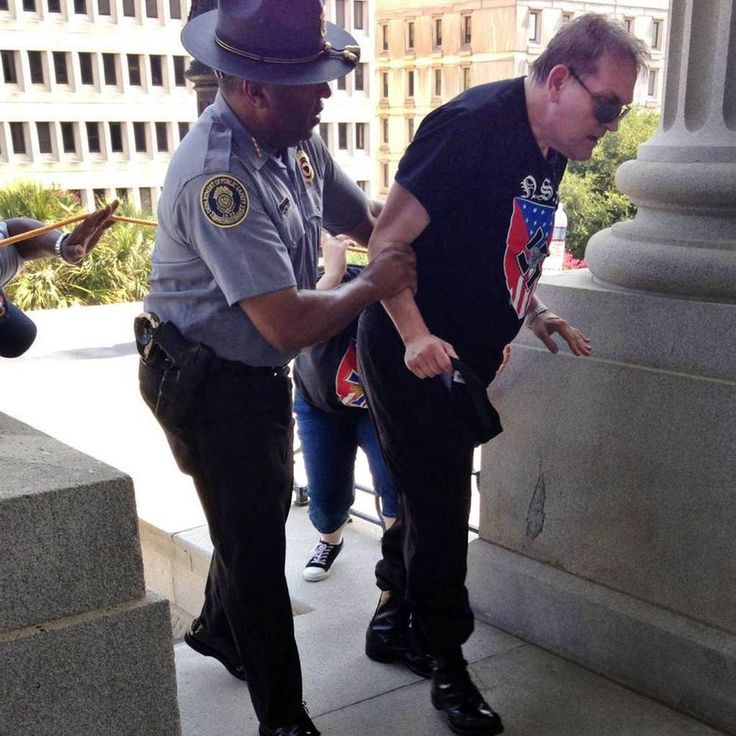 KKK, Black Panther Group Clash Over Confederate Flag Outside South ...