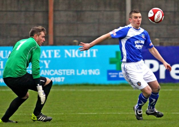 The Dolly Blues somehow came out on the wrong end of a five-goal Boxing Day thriller with Kendal Town at Giant Axe.