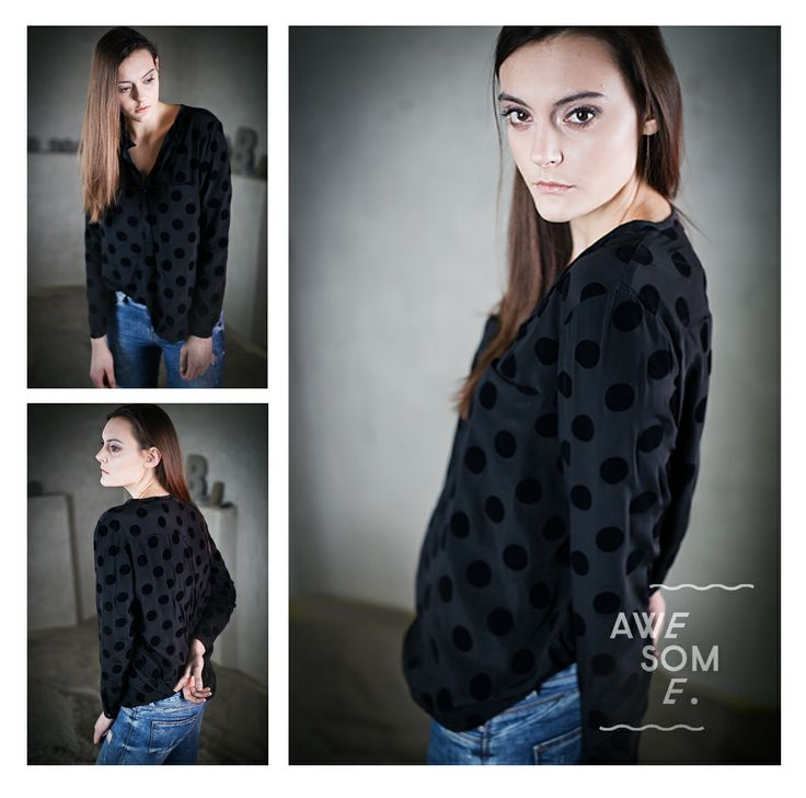 black dots velvet - Awesome. 2014 january/february collection.