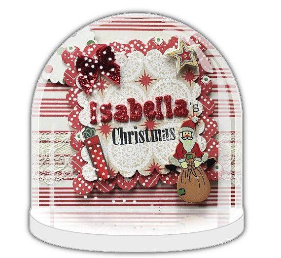 Christmas Snow globe, Personalised Christmas gift, Baby first Christmas, custom snow globe handmade, custom snow globe, winter wonderland.
