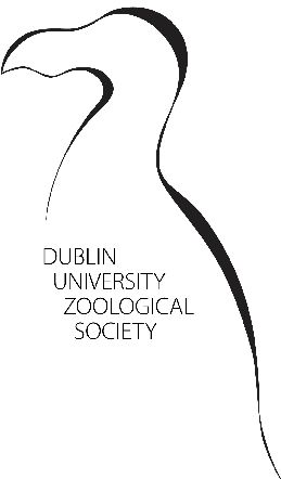 Dublin University Zoological Society. Running for over 40 years, the Dublin University Zoological Society (est. 1974) is an academic society of Trinity College Dublin set up as a forum of education and discussion for those interested in Zoology.