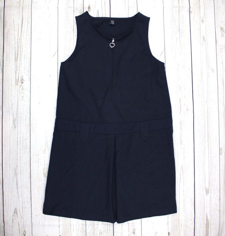 girls dress, school dress, navy dress, girls uniform dress