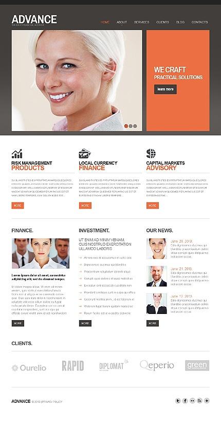 #Joomla #Financial Adviser #Business theme. $75