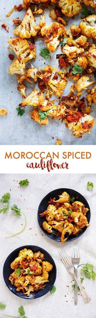 Spiced Roasted Cauliflower - Lexi's Clean Kitchen