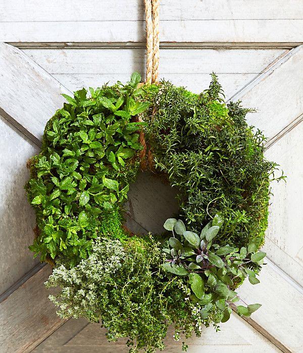 herb wreath...