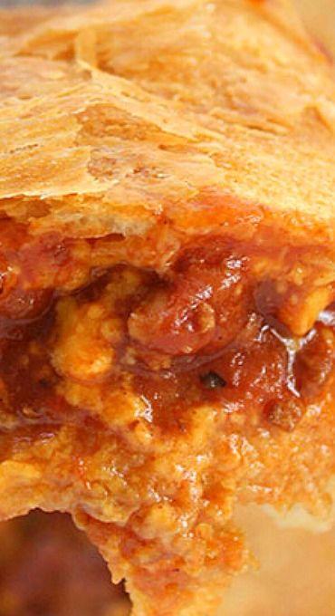 Chili Pot Pie Casserole