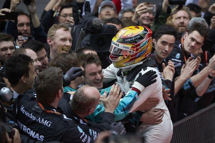【動画】 F1 中国GP 決勝レース ハイライト  [F1 / Formula 1]
