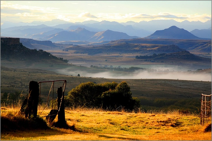 Landscape, Clarens, Free state