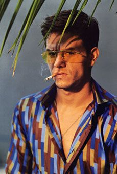 Mark Wahlberg wearing Gene Meyer, Boogie Nights, 1996