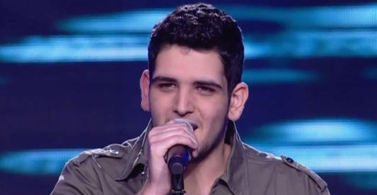 The Voice 2 Blind Auditions: Ανδρέας Ελεσνίτσαλης – Ο Άμλετ της Σελήνης (Βίντεο)