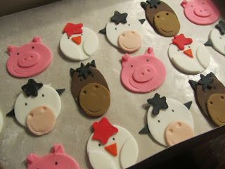 Farm Animal Cake Toppers Nz