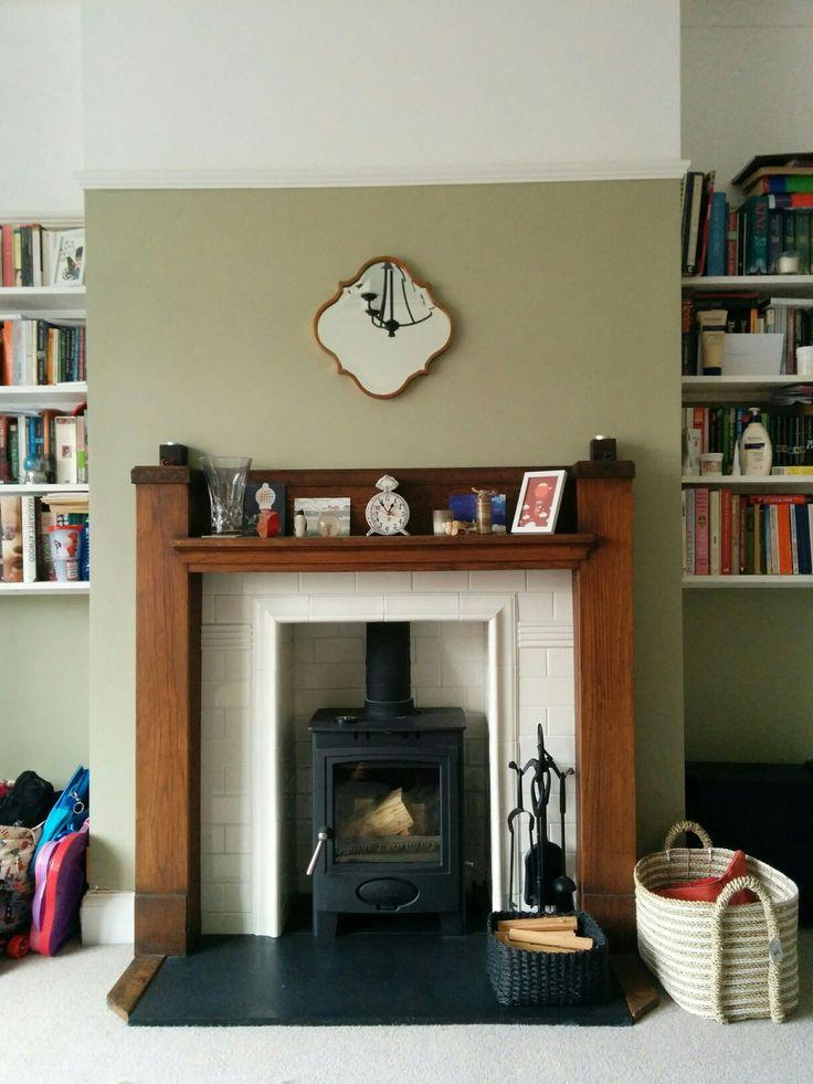 1930's fireplace with Aarrow ecoburn stove