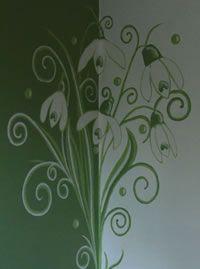 Brighde Room mural