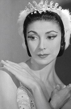 Margot Fonteyn in Swan Lake mid 1950s - (WITH MORE RELAXED HANDS)