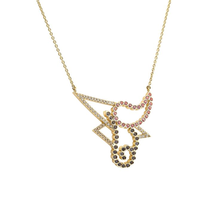 "Gold ""Josephine"" necklace  www.lito-jewelry.com"