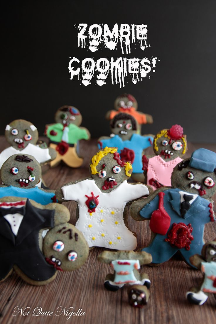 little did we know all those years ago, we were training for zombie cookies at christmas with the broken legs and amputee gingerbread cookies.  :)  Some people just have a sick sense of humor.