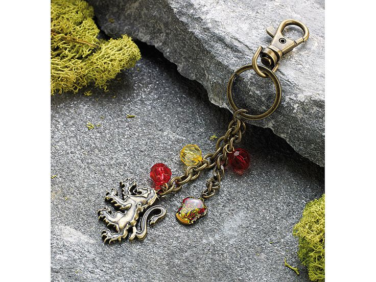 "Harry Potter & the Deathly Hallows Bag Clip ""Gryffindor"""