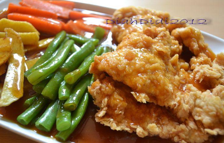 Resep Cake Pisang Diah Didi: Diah Didi's Kitchen: Steak Crispy A La Waroeng Steak Yogya