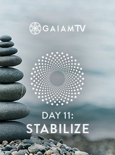 Though powerfully distracting stories may attach themselves to emotions and feelings, stabilize your meditation by recognizing and returning to the present moment. Tune into the power of emotions and feelings by connecting to the deep source that contains and surrounds all that is. #MeditationChallenge #GaiamTV #MyYogaOnline