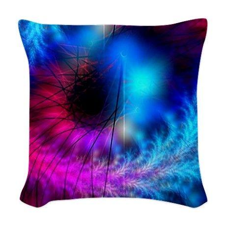 Cover Woven Throw Pillow #homedecor
