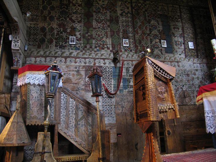 Dębno Pdh. wnętrze kościoła św. Michała Archanioła