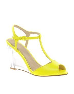Image 1 ofASOS HOOP Heeled Sandals
